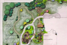 Side yard park master plan