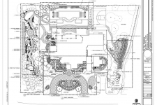 Master plan for large residence