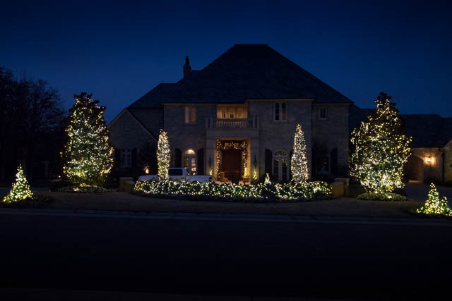 Christmas Lighting Serving Edmond Norman And Oklahoma City With High Quality Landscaping Low Voltage Landscape