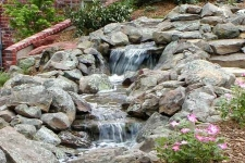 Stream with multiple waterfalls